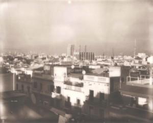 Polaroid art - Print - Poble Sec 40X50